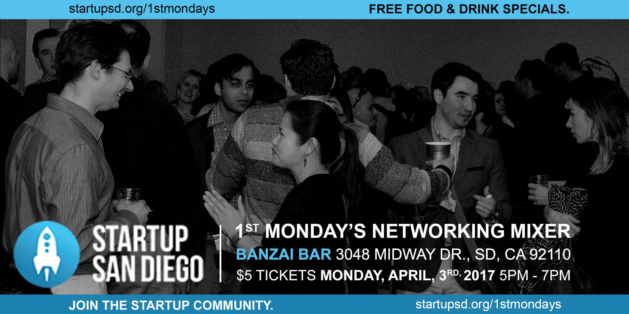 Monthly Networking Mixer @ Banzai Bar
