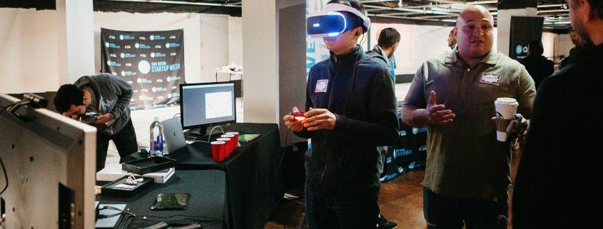 Startup San Diego, Convergence, 2019, Demo, VR