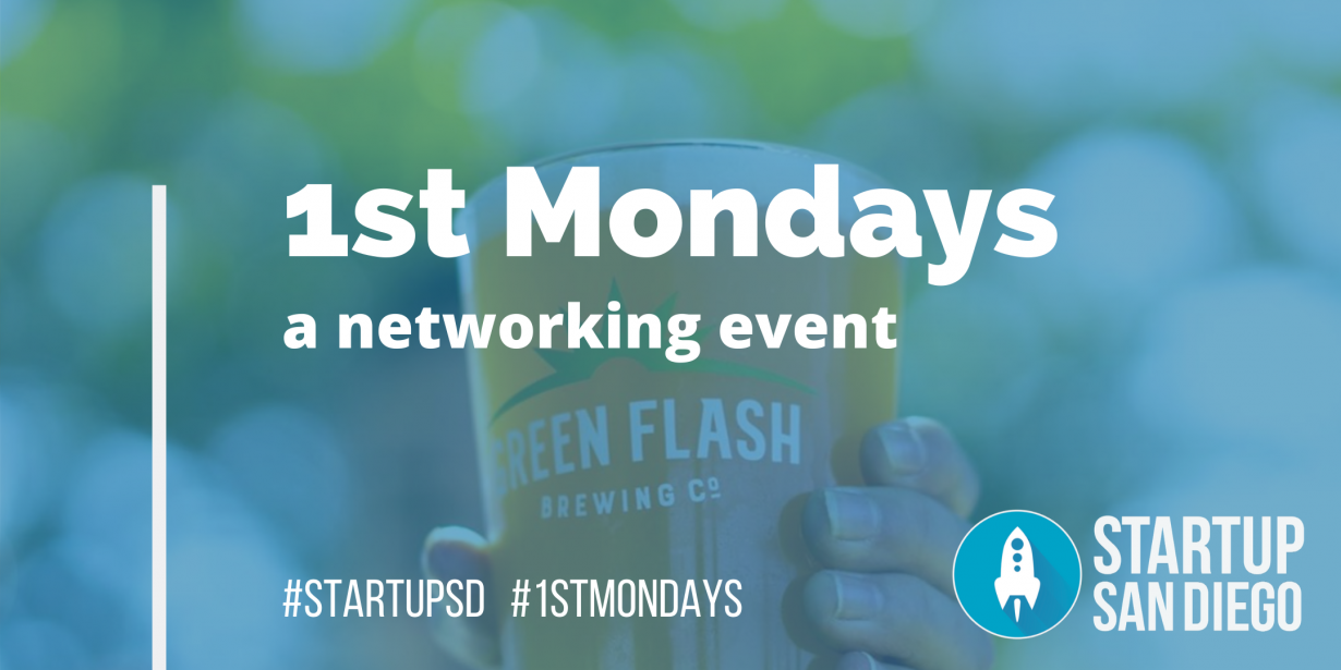 [POSTPONED] 1st Mondays April 2020 @ Green Flash Brewing Co.