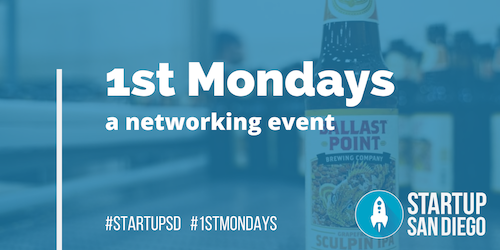 1st Mondays March 2020 @ Ballast Point Brewery (Miramar)