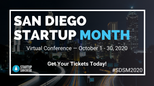 san diego start up month 2020