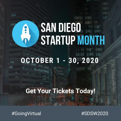 SAN DIEGO startup month