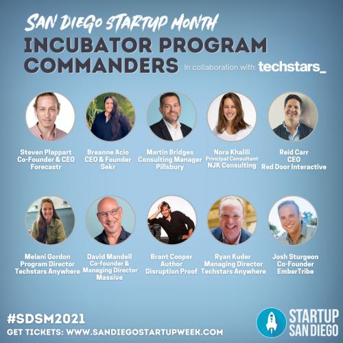 SDSM2021 Incubator Commanders